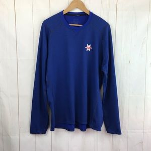 Patagonia Long Sleeve Blue Tee Size XL